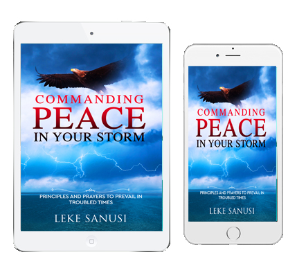 COMMANDING PEACE IN YOUR STORM-e-book-LEKE SANUSI